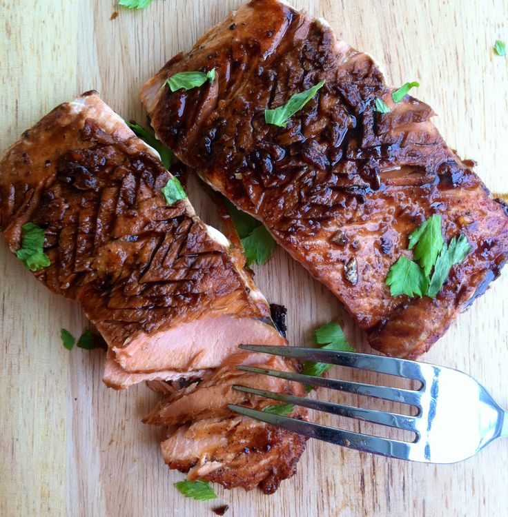 Japanse zalm uit de oven - HungryPeople