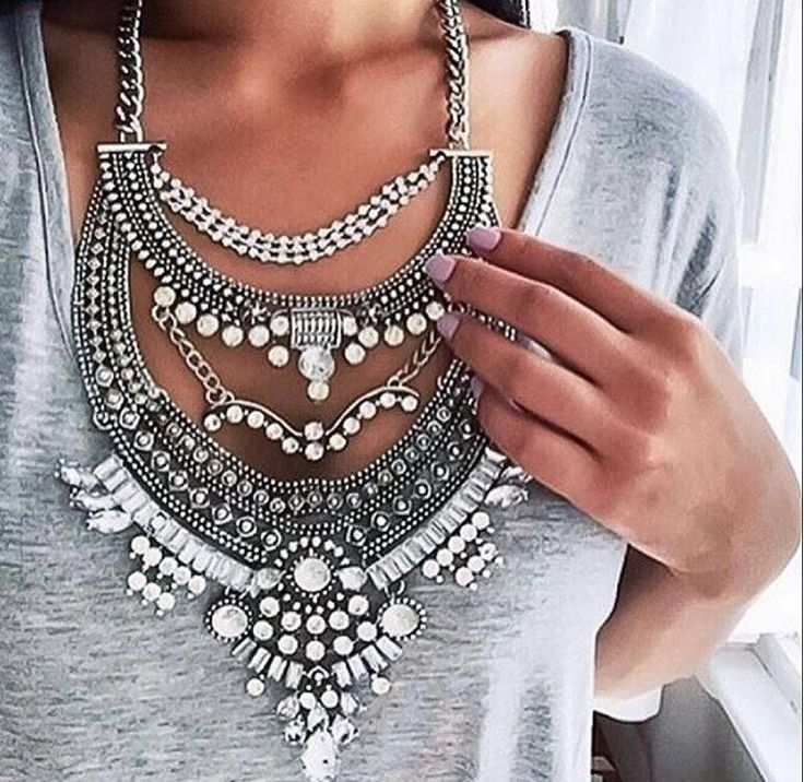 Fashion Necklaces Pendant Women 2016 Crystal Choker Jewelry Collares Collier Femme Bib Boho Vintage Statement Chunky Silver