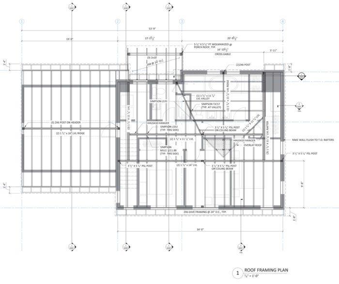 Roof Framing Design Fine Homebuilding Building A Shed Roof Shed Roof Design Roof Framing