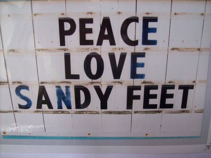 #sandy #feet #quote @Gail Regan Truax://www.fortmyersdaily.com/wp-content/uploads/2011/04/sandy-feet-001.jpg