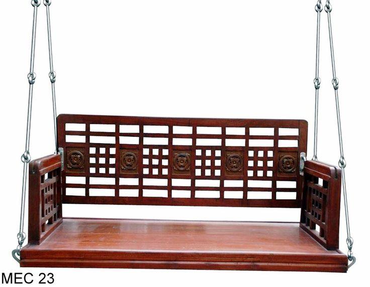 MEC 23 Balcony wooden swing online in Mumbai, India