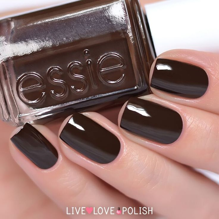 1000+ Ideas About Brown Nail Polish On Pinterest