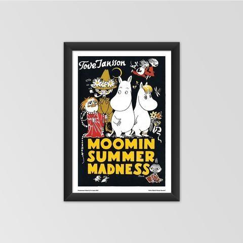 Moomin poster - Moominsummer Madness
