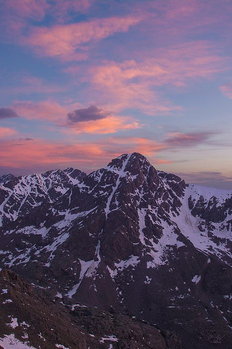 Mt. of the Holy Cross at Sunset - Mountain photography by Aaron Spong #14ers