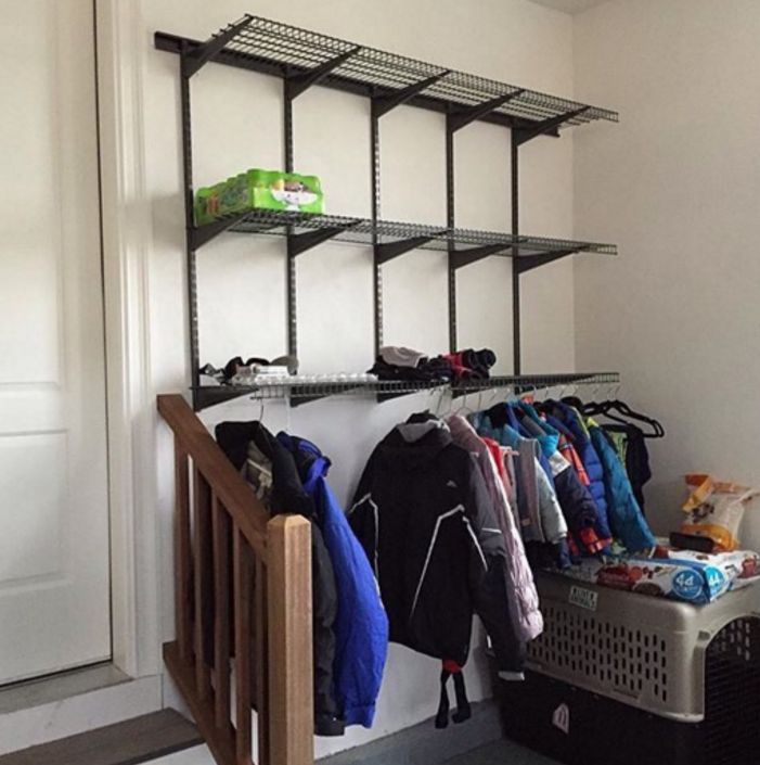 Every Garage Could Benefit From A Wall Of Shelves ClosetMaid