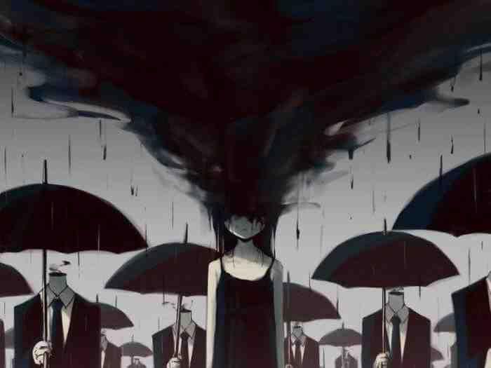 لوحات عميقة المعنى لفنان ياباني يحمل اسم Avogado6 على تويتر صورة ١٣ Dark Art Illustrations Emotional Art Deep Art