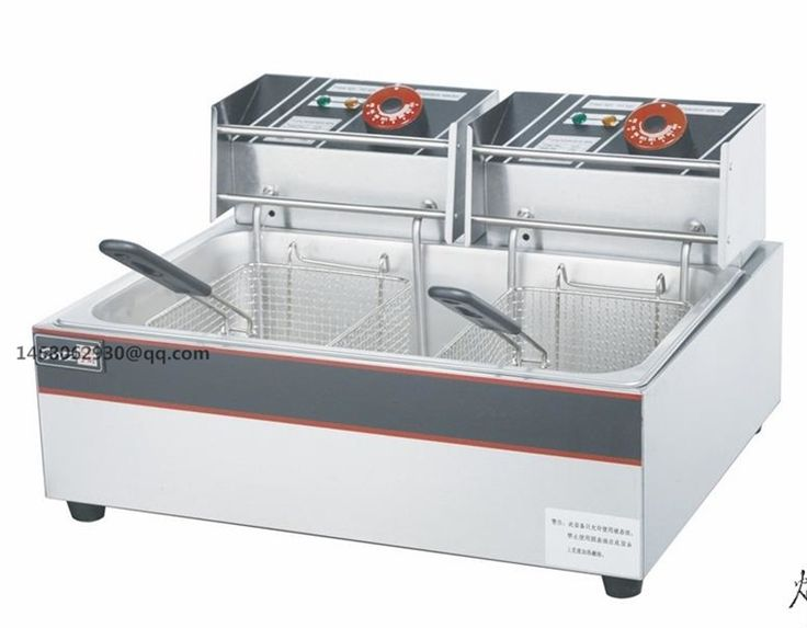 122.00$  Buy now - http://ali12v.worldwells.pw/go.php?t=32645147218 - Made in China cheap price good performance electric deep fryer twin tank deep commercial counter top electric fryer 122.00$