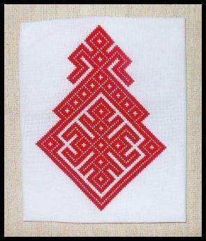 Slavic Goddess Embroidery - Essay - The Goddess Mokosh: