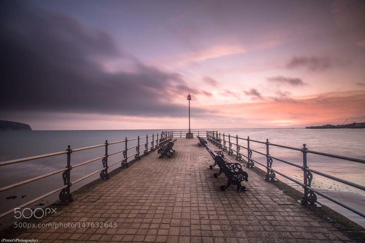 Banjo Pier Swanage by Matt_Pinner. Please Like http://fb.me/go4photos and Follow @go4fotos Thank You. :-)