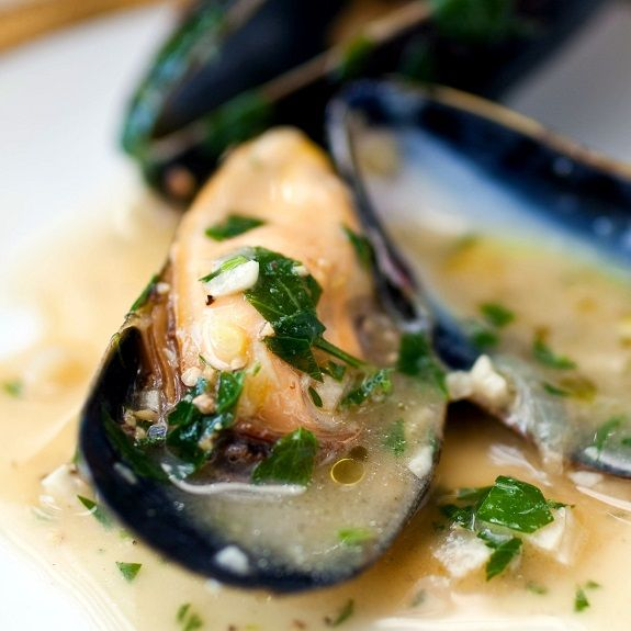 Pressure cooker moules Dijonnaise. This recipe belongs to French ...