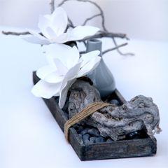 Zelf maken: stilleven met foambloemen. Lees het stappenplan op onze site.