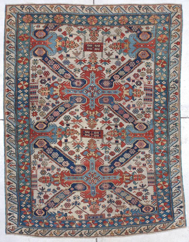 Antique Caucasian Rugs For Kazak Shirvan Karabaugh Page 2