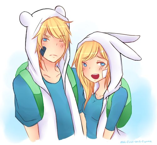 finn in girl form | finn and fionna - Adventure Time With Finn and Jake Photo (35072932 ...