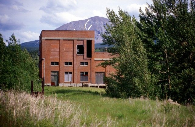 Crowsnest Pass power house