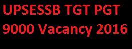 UP TGT PGT Recruitment 2016, UP 9000 Teacher Vacancy Notification Application Form