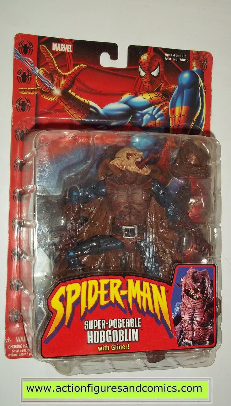 marvel legends HOBGOBLIN SUPER POSEABLE spider-man classics toy biz action figures moc mip mib