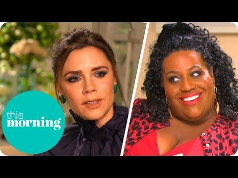 Victoria Beckham Addresses Rumours of a New Spice Girls Album! | This Morning - YouTube