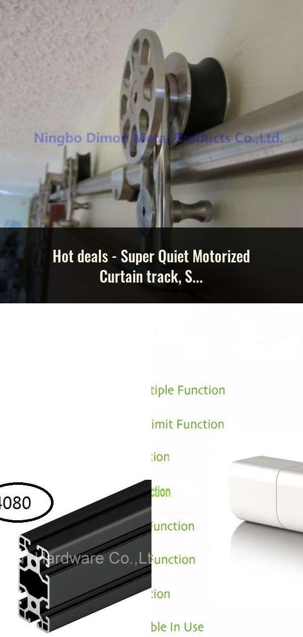 Super Quiet Motorized Curtain Track Smart Home Used Motorized Curtain Track For Xiaomi Motor Dooya Motor Avec Images