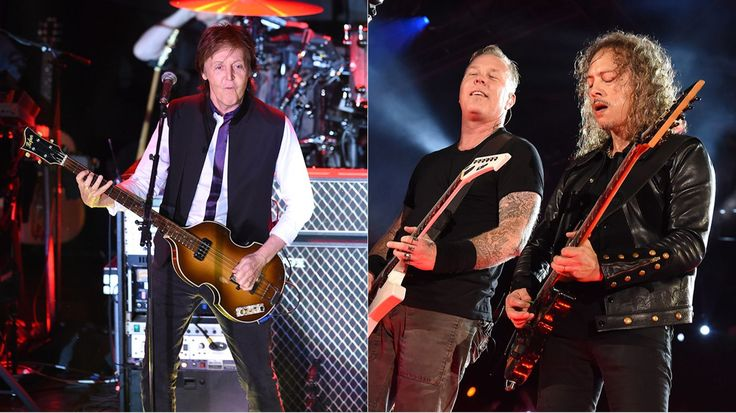 Lollapalooza 2015: Paul McCartney, Metallica Headline Lineup - ROLLINGSTONE #Lollapalooza, #Festival, #Music