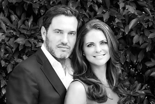 Mr. Christopher ONeill og prinsesse Madeleine.  Engagement and Wedding  October 25, 2012 announced the engagement of Princess Madeleine and Mr. Christopher O'Neill and the ceremony will take place on Saturday, June 8, 2013 in Castle Church, Stockholm.