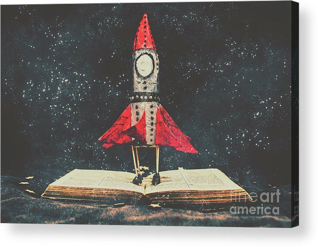 Education Acrylic Print featuring the photograph Imagination Is A Space Of Learning Fun by Jorgo Photography - Wall Art Gallery