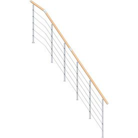 Best Dolle 12 Ft 9 In Metal Complete Banister Railing Side 640 x 480