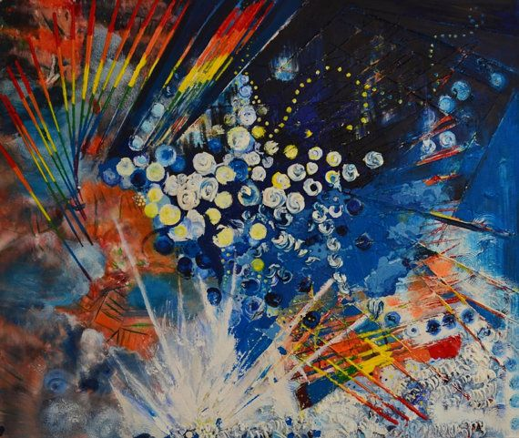 The Beautiful Chaos That I Need by ArtLivingArt on Etsy, £3800.00