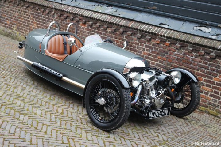 Morgan 3-wheeler. Pistonheads