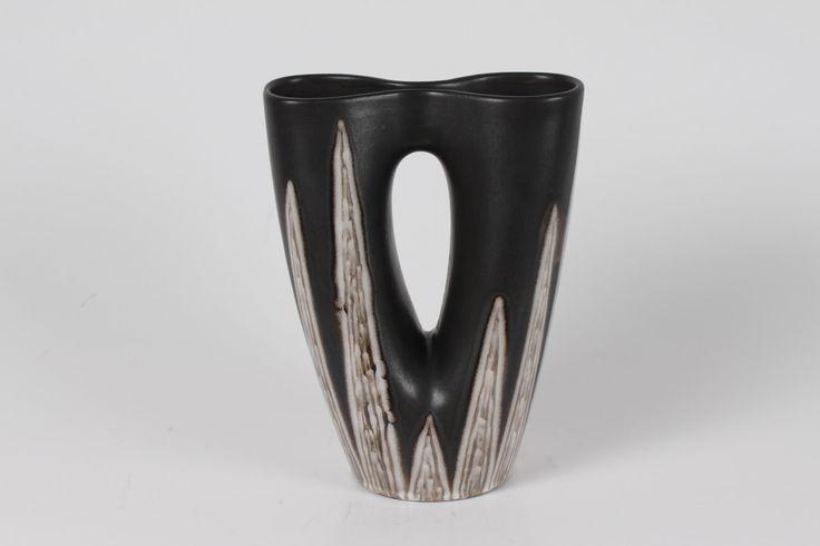 Søholm BURGUNDIA vase no 2038 by Holm Sørensen deco by Svend Aage Jensen from Denmark  mid century by danishhome on Etsy https://www.etsy.com/listing/230241531/soholm-burgundia-vase-no-2038-by-holm