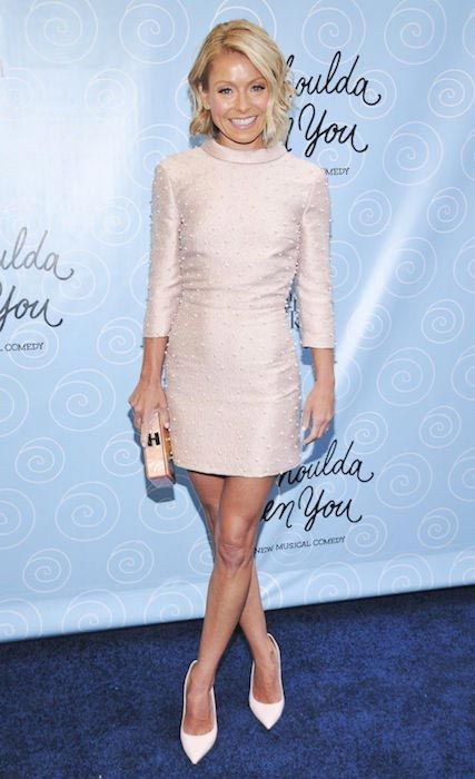 Actress Kelly Ripa is 5 ft 2.5 in or 159 cm high...