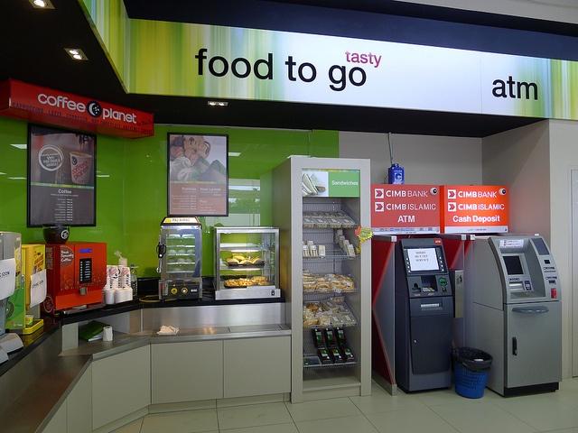 Mesra c-store interior by Minale Tattersfield Roadside Retail, via Flickr