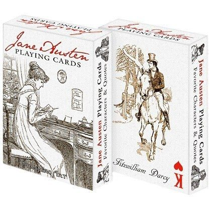 Jane Austen Playing Cards | Community Post: 8 Jane Austen Products You Probably Never Knew Existed