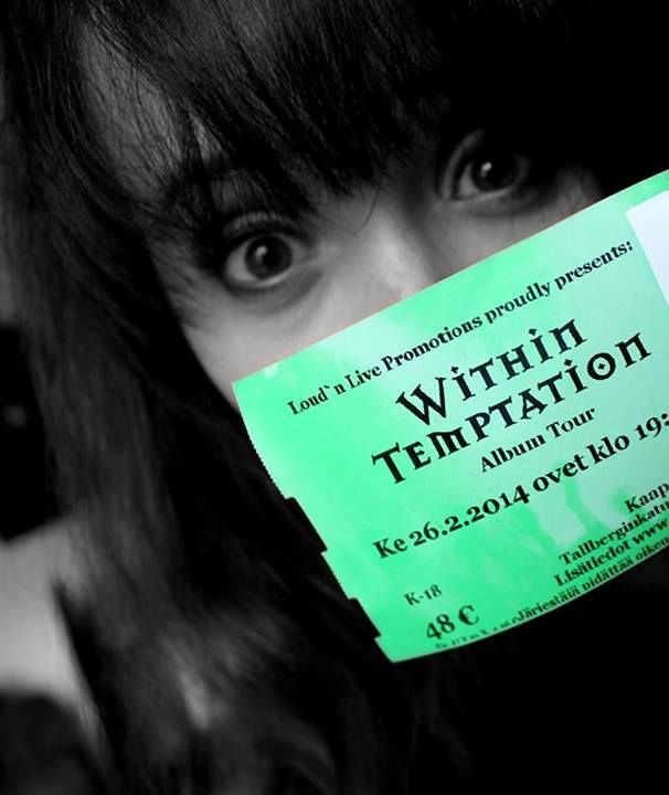 #WTworldtour #Withintemptation #Helsinki #Finland #2014 26.2.2014 ! ♥