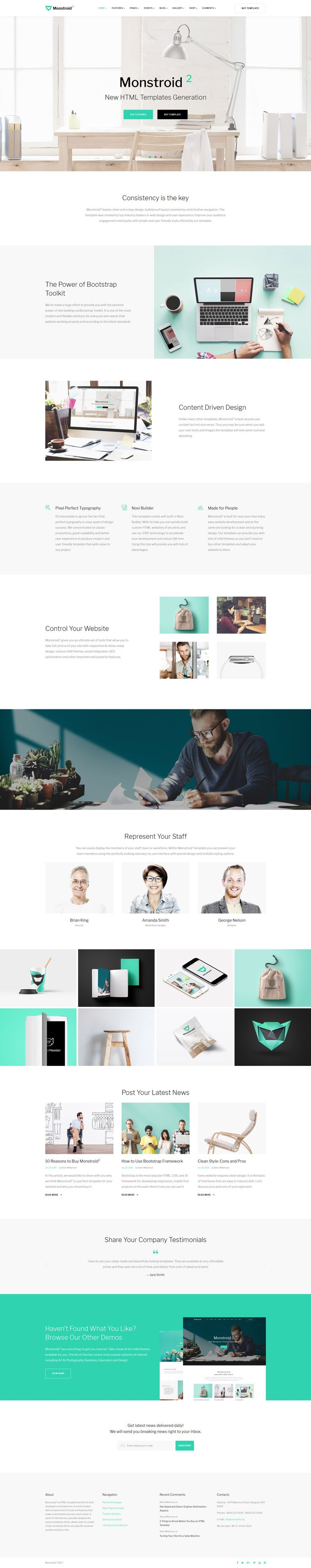 31 best monstroid 2 multi purpose wordpress theme images on