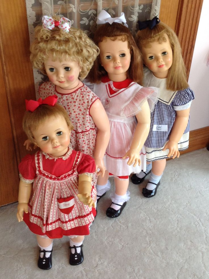 Ideal dolls & old companion type. Paulette's