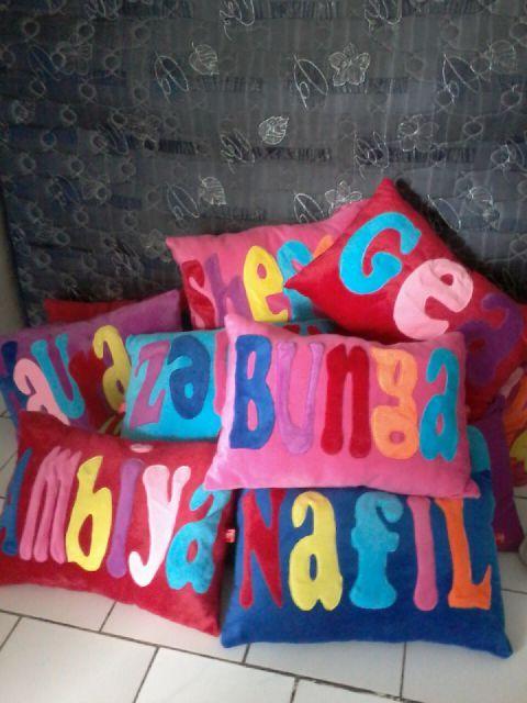 BANTAL TIDUR NAMA bisa request ukuran dan warna ORDER KE : WA: 082231038226 / 085851855050 PIN bb : 24C0DCA4 #bantaltidur #bantalvalentine #bantalcinta #bantallove #bantalunik #bantallucu #kadovalentine #kadokado #kadounik #kadolucu #bantalmurah #bantalhandmade #bantalonline #bantalkado #istanakado #kadokado #tokokadoonline #pabrikbantalmurah #produkunikerrenz #jualbantalvalentine #jualbantalunik #jualbantallucu #grosirbantalmurah #grosirbantal #bantalcintamurah #produklokal #produksibantal