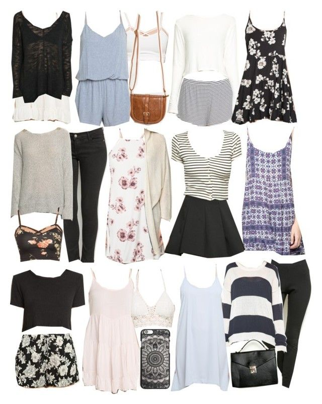 """""""Allison Inspired Brandy Melville Outfits"""" by veterization ❤ liked on Polyvore featuring moda"""