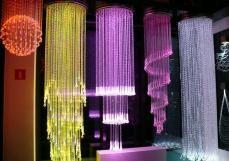 Żyrandole światłowodowe
