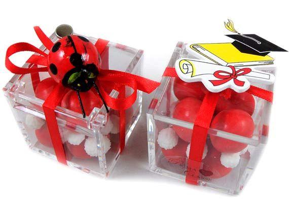 bomboniere laurea complete di confetti