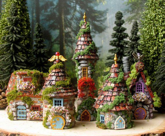 Woodland Fairy Hermitage of The Bewildering by bewilderandpine