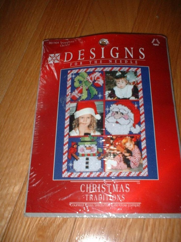 DESIGNS FOR THE NEEDLE CROSS STITCH KIT ~ CHRISTMAS PICTURE FRAME ~ NEW #DesignsfortheNeedle