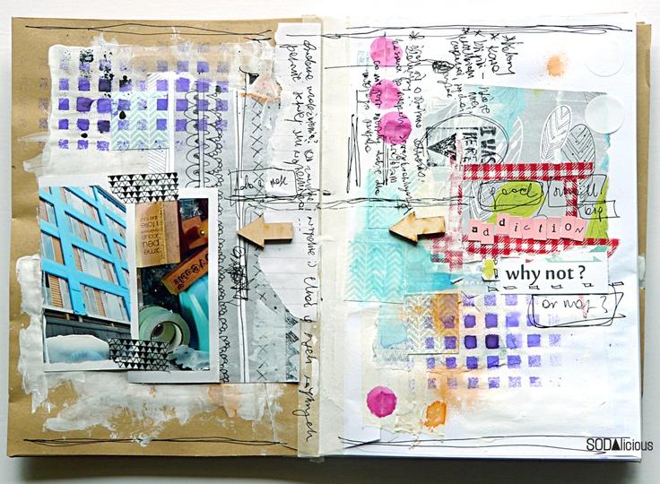 #papercraft #artjournaling SODAlicious: No20 ► art journal