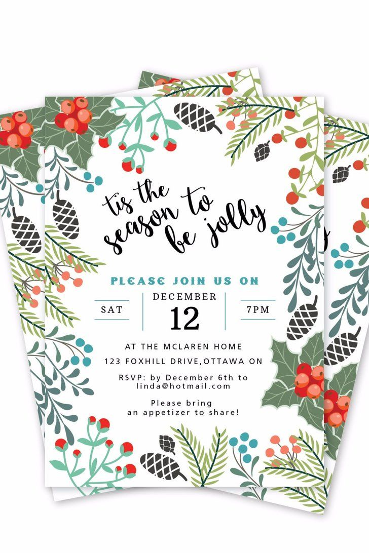 Christmas Invite Template Digger Free Word Invitation Template
