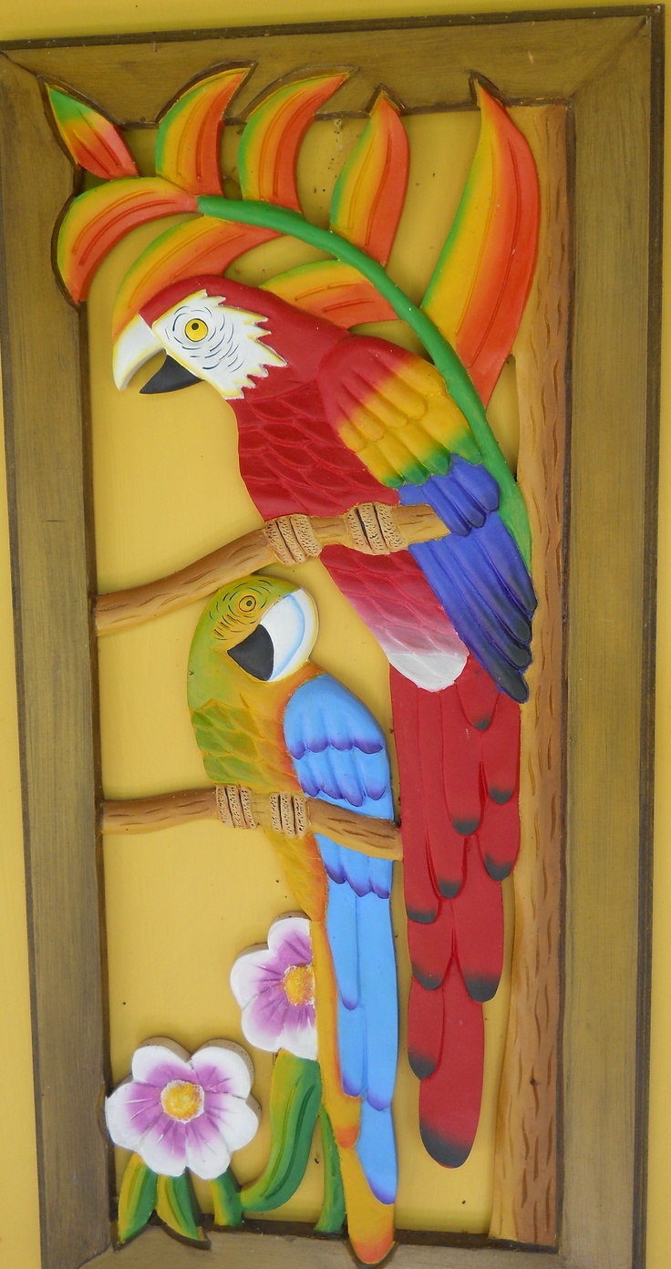 Wood work from Colombia / artesania Colombiana