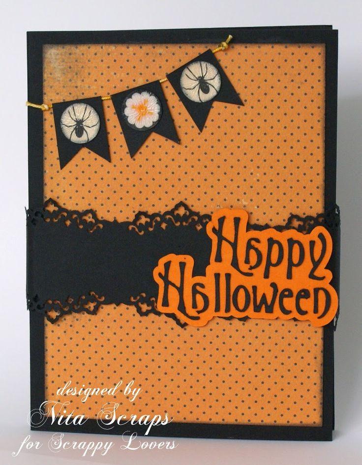 Halloween Card http://nita-scraps.blogspot.pt/