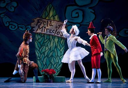 Show and Tell: Pacific Northwest Ballet's 'Pinocchio' - ParentMap