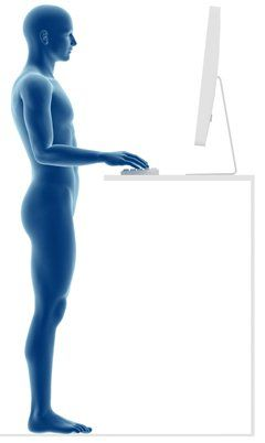 Body at Standing Desk