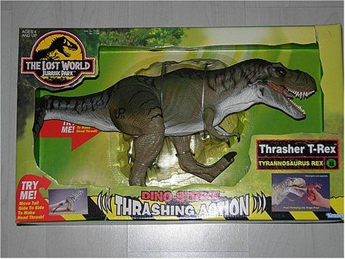 Jurassic Park The Lost World Thrasher T-Rex @ niftywarehouse.com #NiftyWarehouse #JurassicPark #Jurassic #Dinosaurs #Film #Dinosaur #Movies