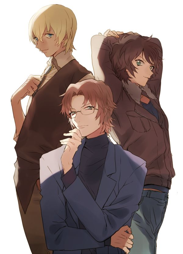 Detective Conan - Subaru, Masumi, and Tooru