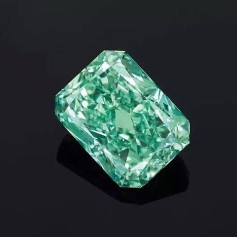 5.03 carat aurora green diamond                                                                                                                                                                                 More